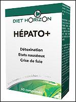 DIET HORIZON - Hepato Plus - 60 Comprimés